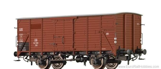 Brawa 67442 Covered Freight Car G10 DB