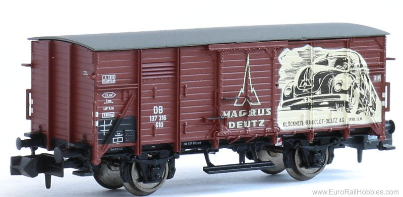 Brawa 67446 2017 Toyfair Magirus Deutz Freight Car G10 Ex