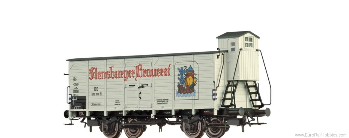 Brawa 67477 Beer Car G10 Flensburger DB