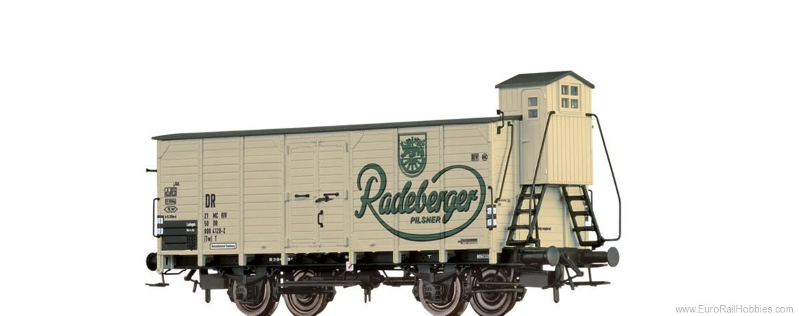 Brawa 67481 Beer Car G10 Radeberger DR