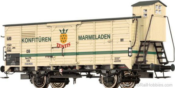 Brawa 67491 Covered Freight Car G10 Zentis DB