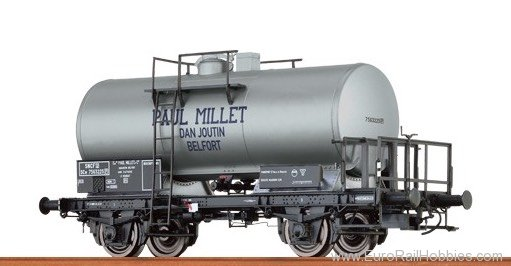 Brawa 67501 Tank Car 2-axle Paul Millet SNCF