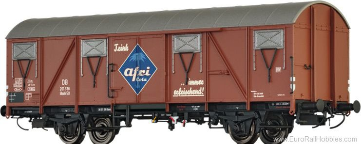Brawa 67808 Covered Freight Car Glmhs50 Afri Cola DB