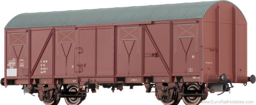 Brawa 67813 Covered Freight Car Gos DR
