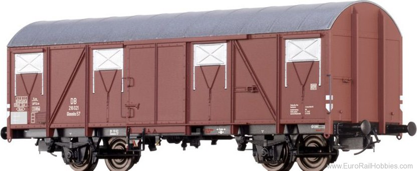 Brawa 67815 Covered Freight Car Glmmhs57 DB