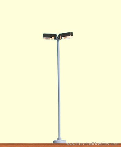 Brawa 84060 Park Lamp, Douple, Pin-Socket
