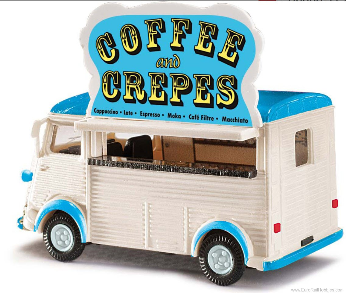 Busch 41926 Citroen H 'Crepes and Coffee' Van