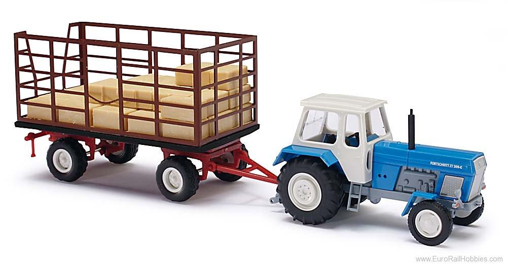 Трактор с тележкой картинки