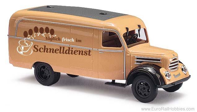 fer #neu dans neuf dans sa boîte # Busch 51808 Piste h0 Robur Garant k30 camionnette