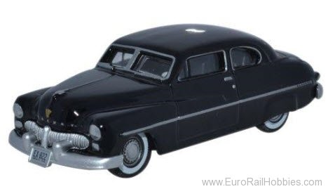 Busch 87ME49005 Oxford Diecast 1949 Mercury Black Sedan