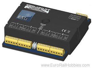 ESU 51801 SwitchPilot Extension, 4x twin relays, extens
