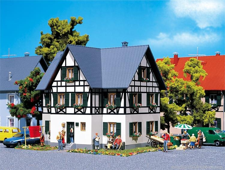 Faller 130259 Half-timbered two-family house