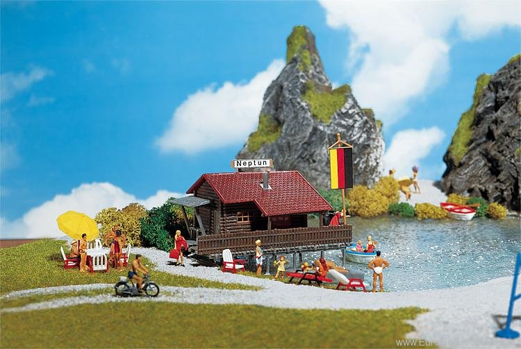 Faller 130284 Boathouse