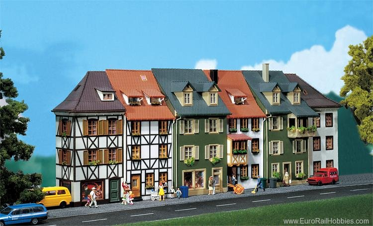 Faller 130430 Six relief houses