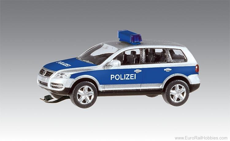 Faller 161543 VW Touareg Police (Wiking) with flashing ligh