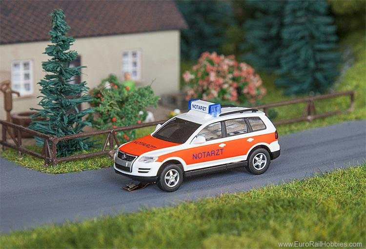 Faller 161559 VW Touareg Emergency doctor (WIKING)