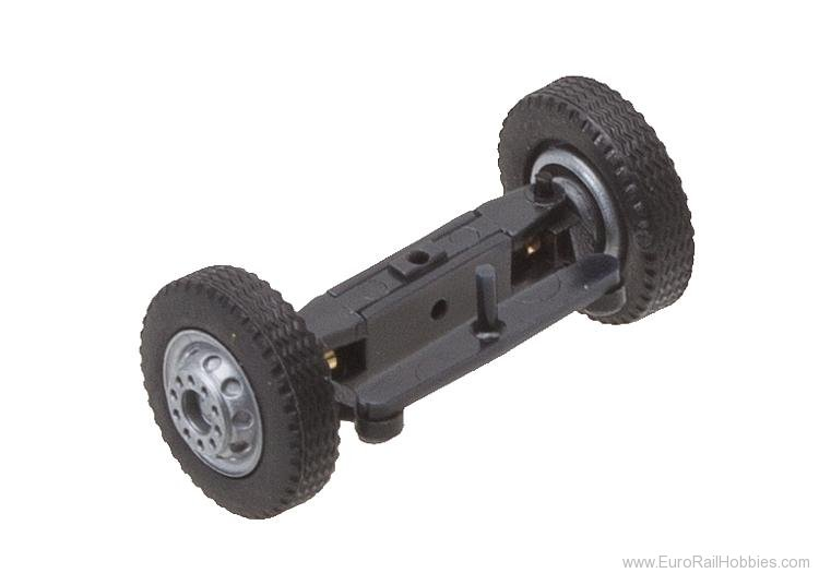 Faller 163002 Front axle, completely assembled for lorries