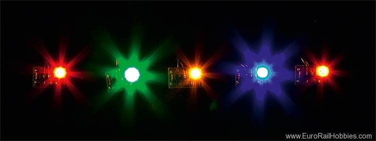 Faller 180652 5 LEDs, in different colours