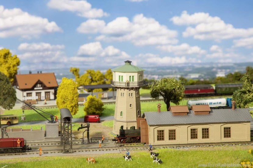 Faller 239002 Railway Maintenance Service Building Set - Aw