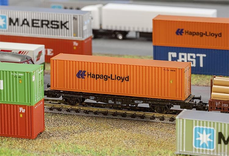 Faller 272842 40' Hi-Cube Container Hapag-Lloyd