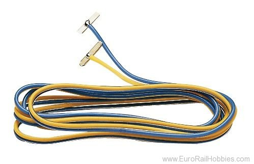 Fleischmann 22217 N/H0e Track Terminal with Cable (pair)