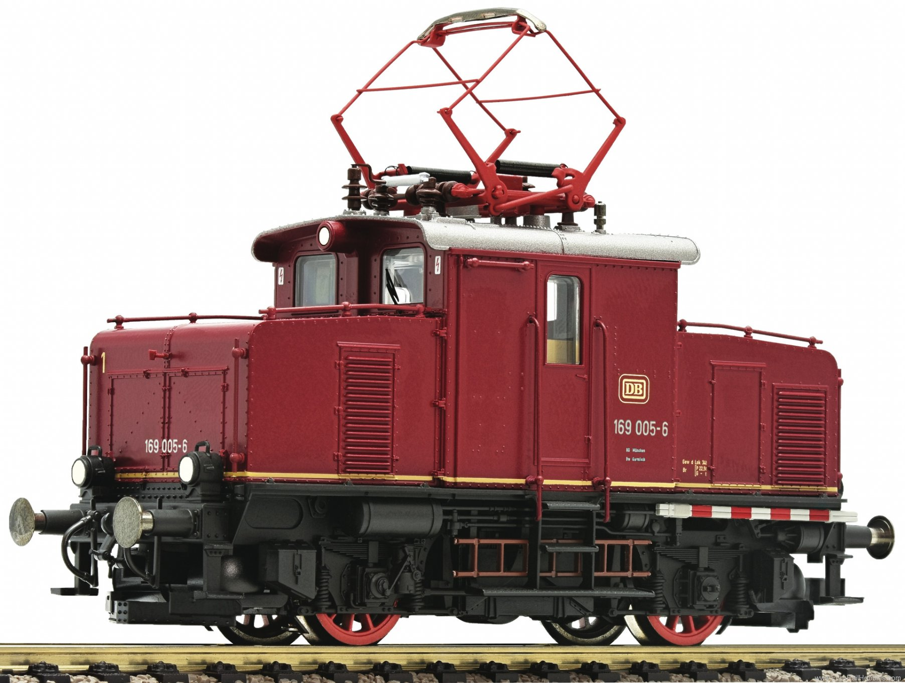 Fleischmann 390075 DB Electric locomotive 169 005-6 (Marklin AC
