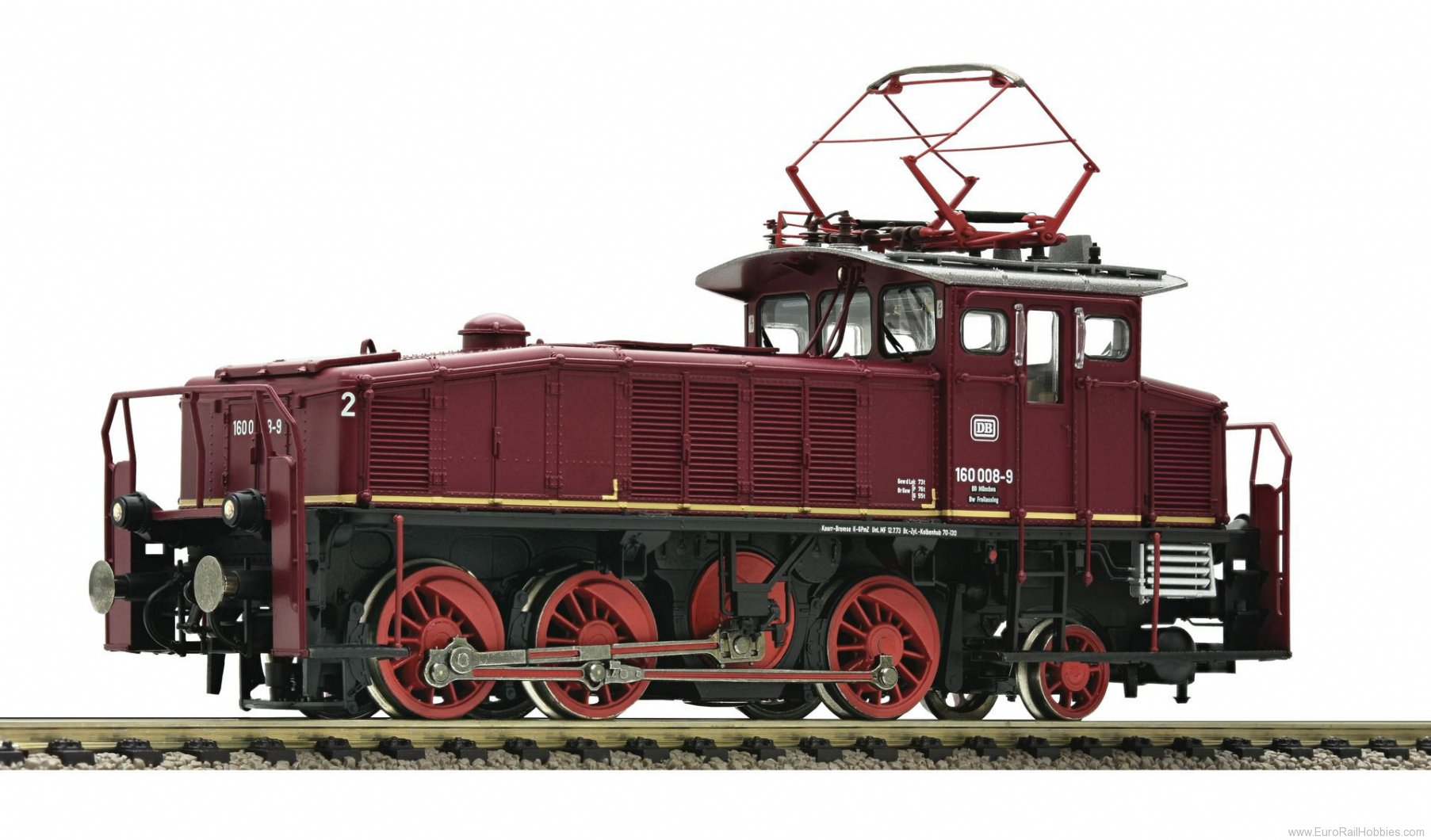 Fleischmann 396073 Electric Locomotive BR 160, DB (AC Digital So
