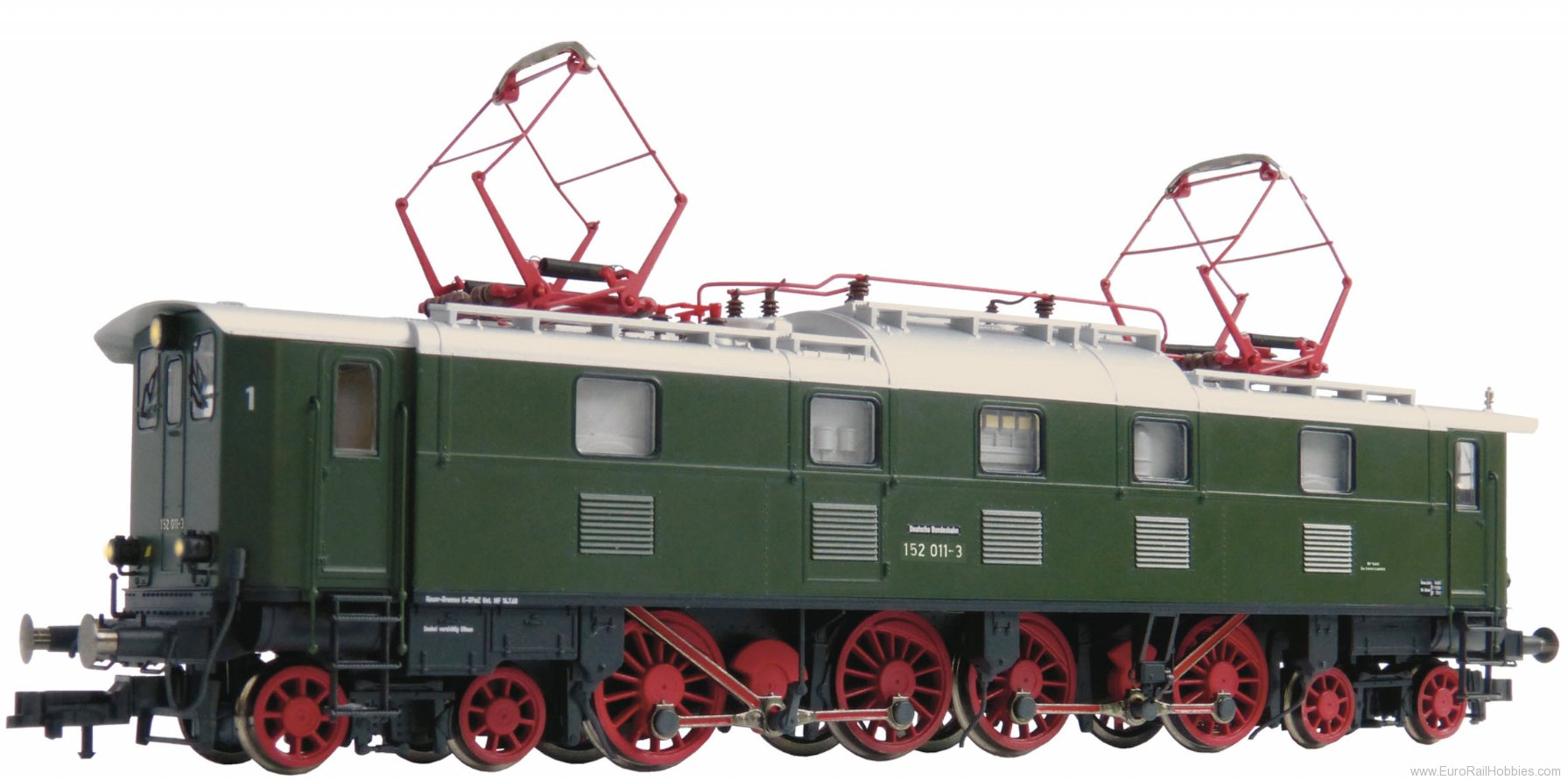 Fleischmann 435273 DB Electric locomotive BR 152  (DCC w/Sound)