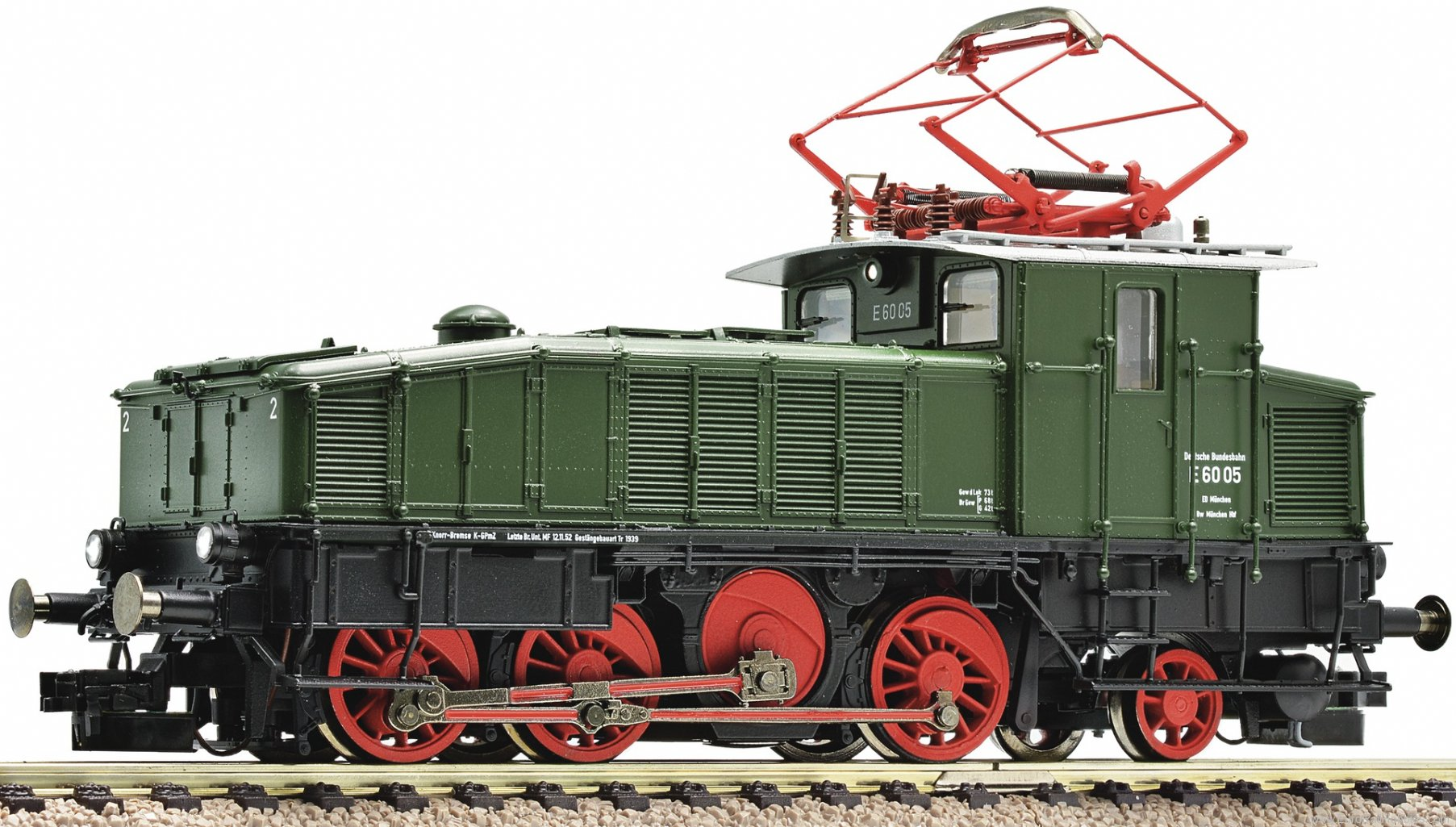 Fleischmann 436072 Electric locomotive series E 60, DB. (Digital