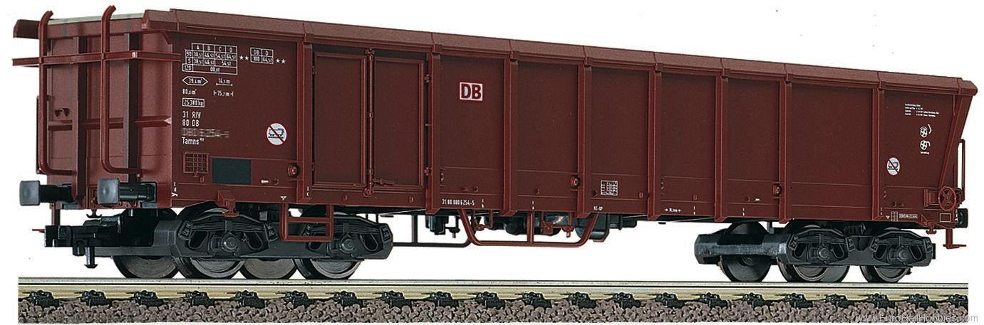 Fleischmann 528004 DB AG Rolling roof wagon type Tamns