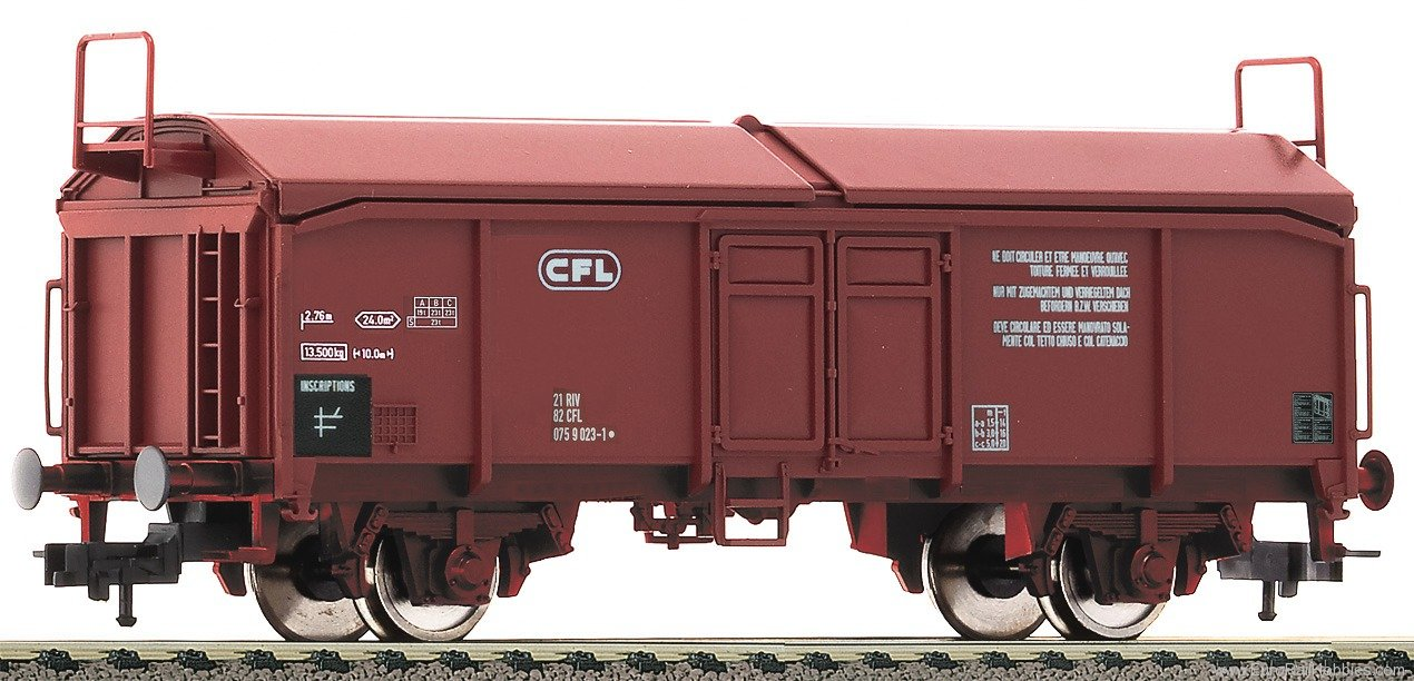 Fleischmann 533403 Sliding/lifting roof wagon, CFL