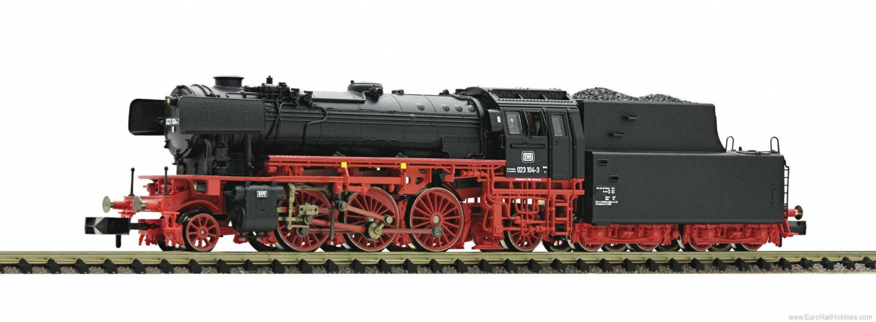 Fleischmann 712384 DB BR 23 Steam Locomotive (DCC) (Factory Sold