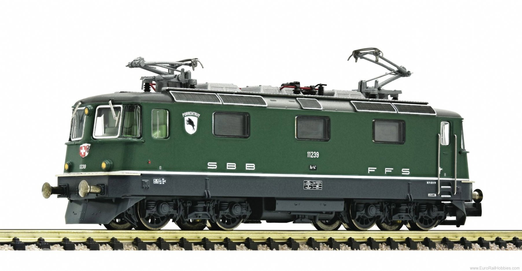 "Fleischmann 734090 SBB Electric locomotive Re 4/4"","