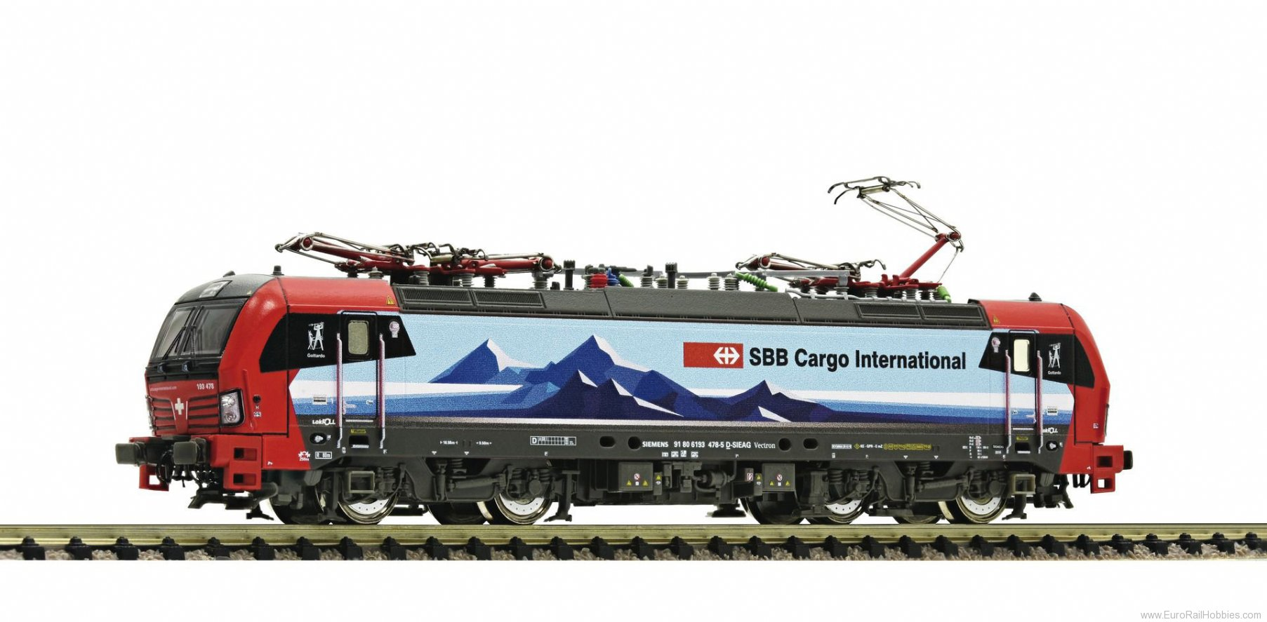 Fleischmann 739304 SBB Cargo Vectron Electric Locomotive
