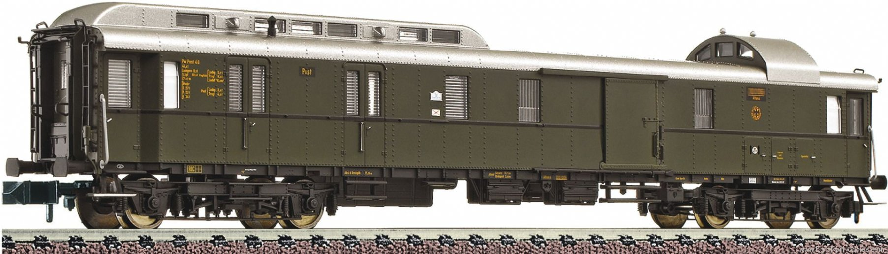 Fleischmann 863604 DRG Standard Post and Baggage Coach