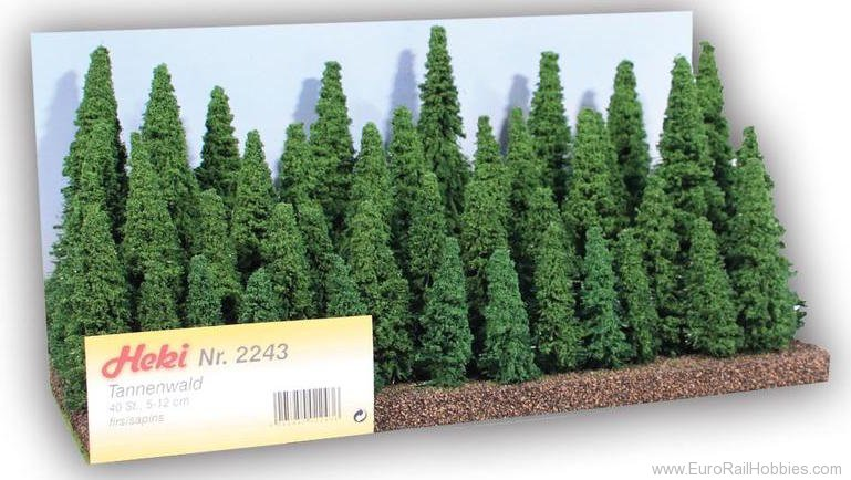 Heki 2243 Fir Forest, 40 Trees 5-12 cm