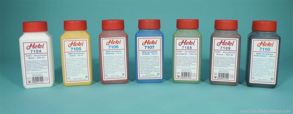 Heki 7107 Color firnblau