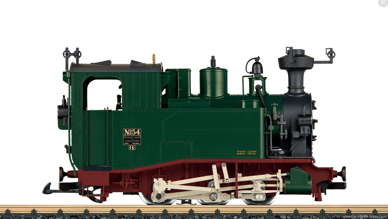 LGB 20980 Saxon Class I K Steam Locomotive