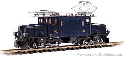 LGB 25409 RhB Alpine Classic Crocodile Electric Locomot