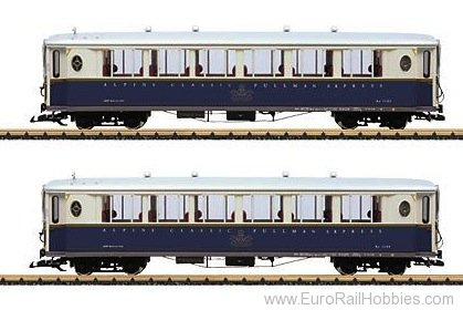 LGB 36659 Passenger Car Set
