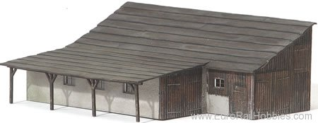 MBZ Thomas Oswald 16052 Shed with Pent Roof