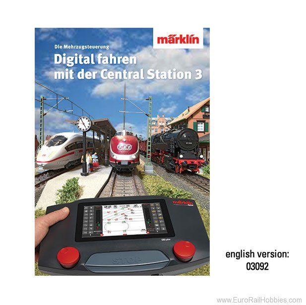 Marklin 03092 Book - Digital Control with Central Station 3