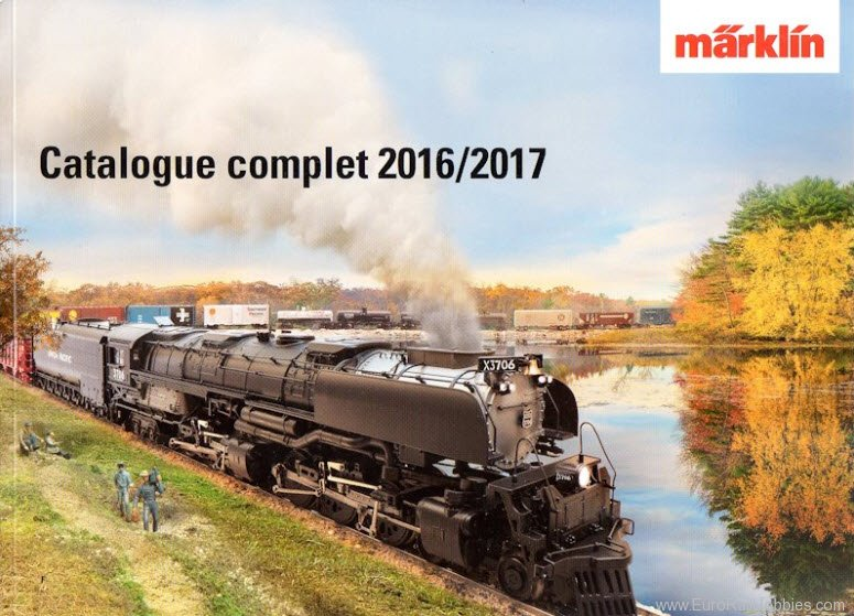 Marklin 15741 Marklin 2016/17 Full Line Catalog - English