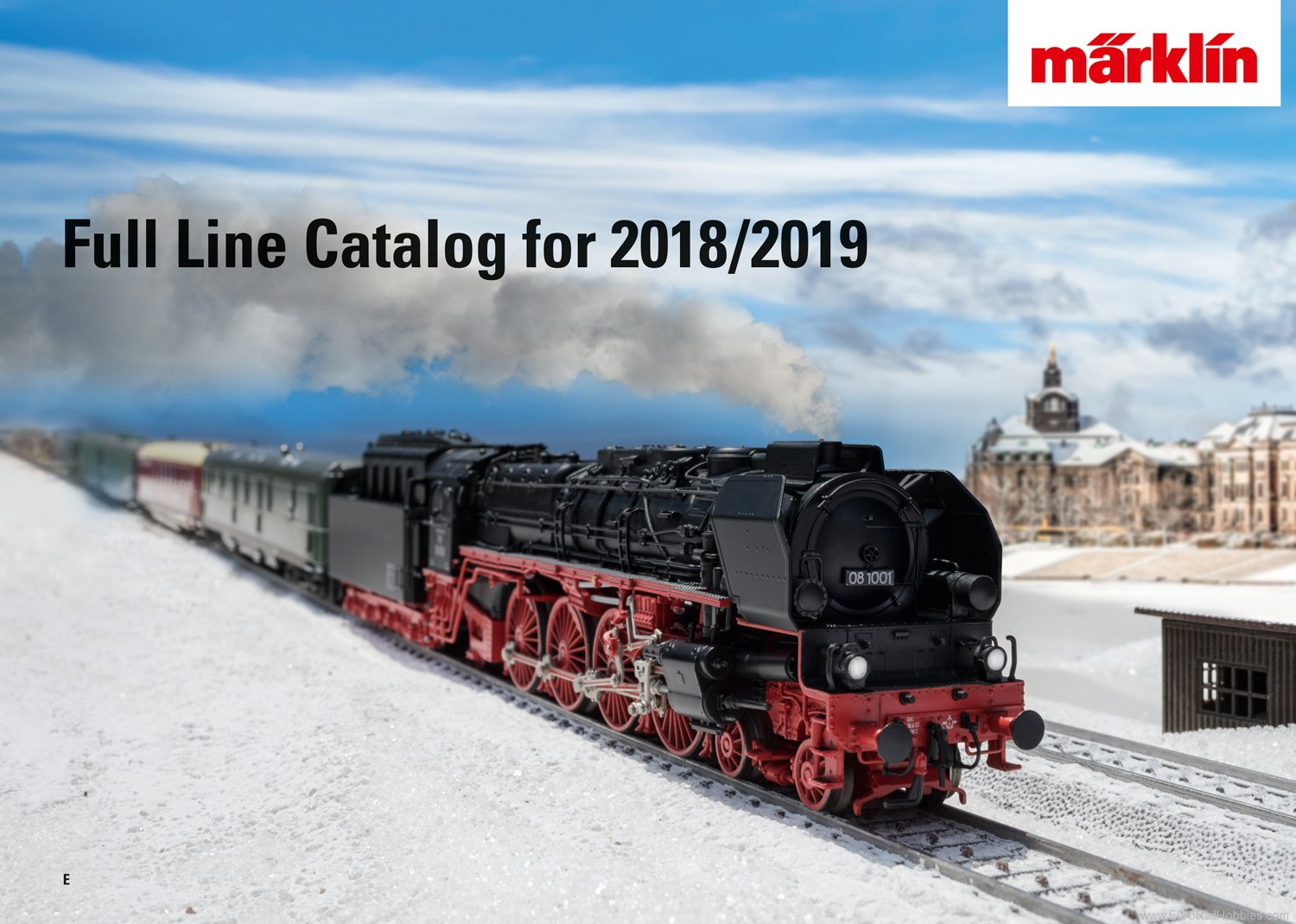 Marklin 15762 Marklin Full Line Catalog 2018/2019 ENGLISH E