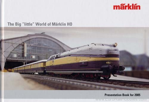 Marklin 16362 2005 Märklin H0-Yearbook Catalog