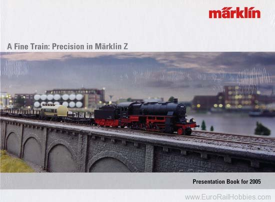 Marklin 16372 2005 - Marklin Z-Yearbook Catalog