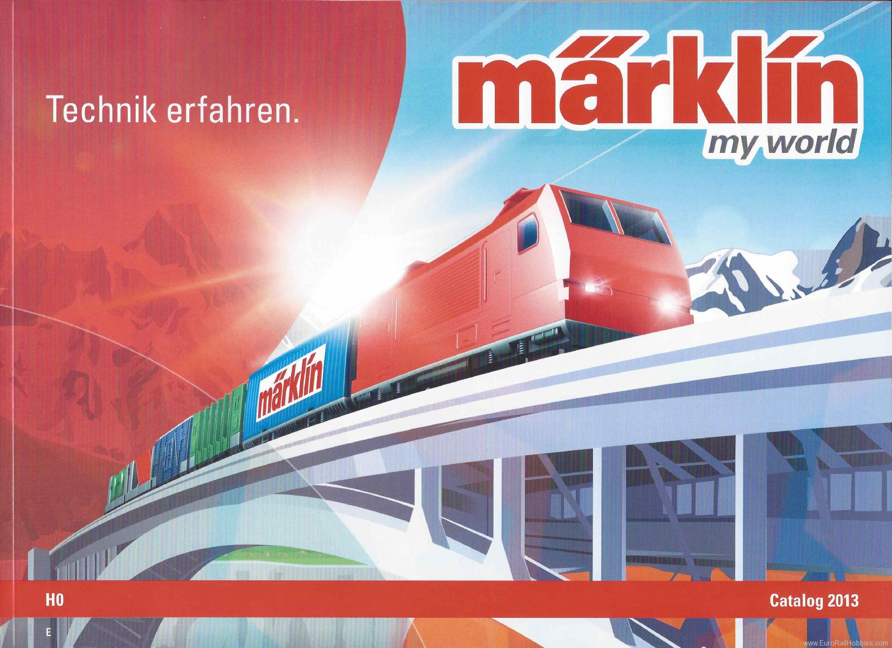 Marklin 18511 2013 Marklin ''My World'' Catalog