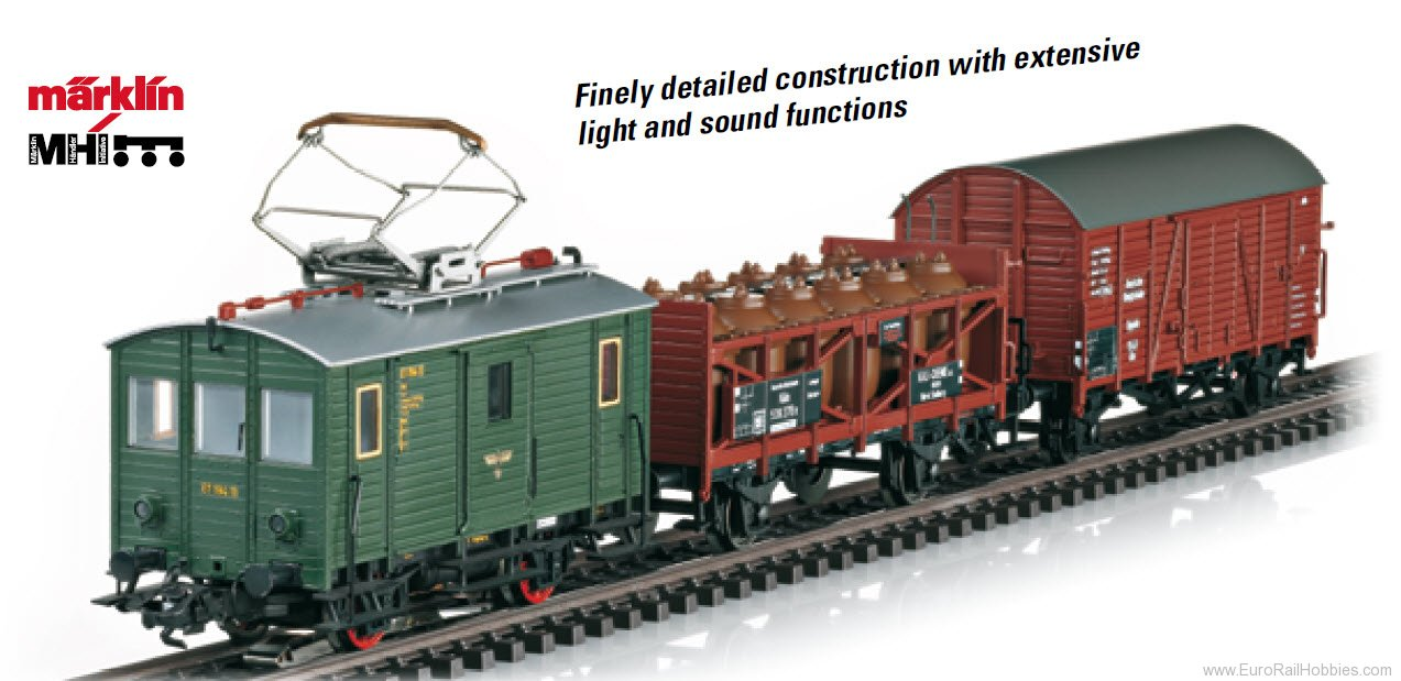 Marklin 26194 DRG Train Set with a Class ET 194 Freight Pow