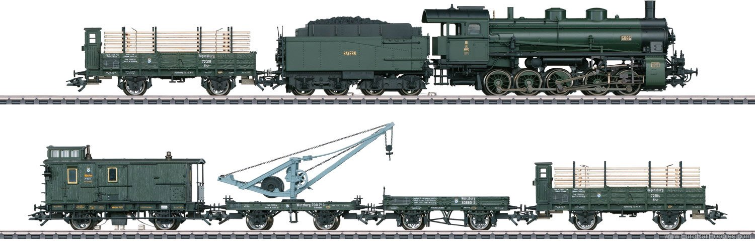 Marklin 26603 Marklin  'Bavarian Freight Train' Train Set M