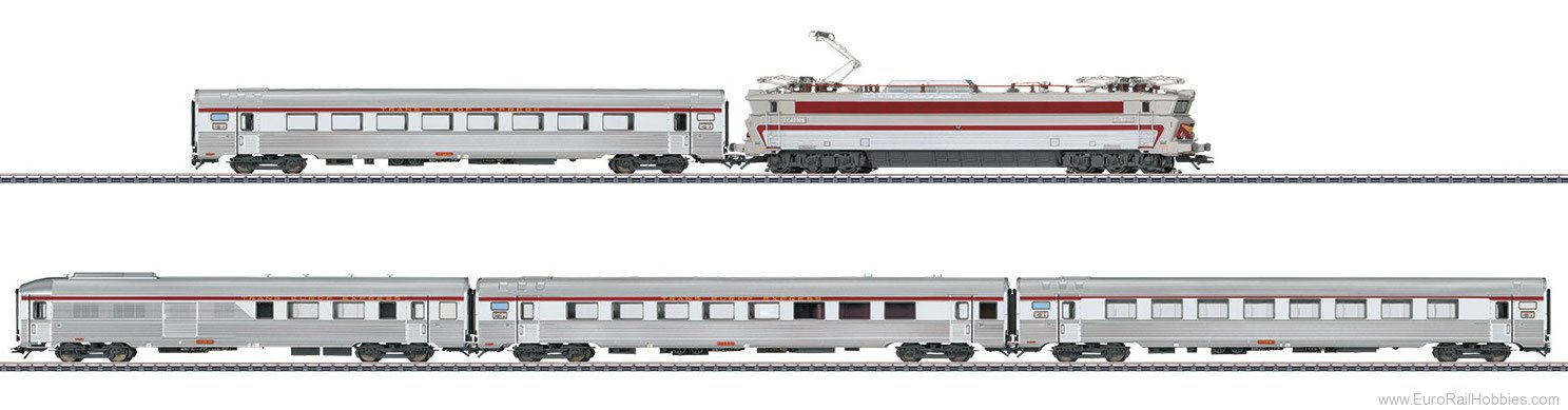 Marklin 26608 SNCF TEE L'Etoile du Nord Train Set, MFX w/So